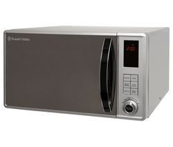 RUSSELL HOBBS RHM2362S Solo Microwave - Silver Best Price, Cheapest Prices