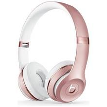 Beats by Dre Solo 3 On-Ear Wireless Headphones - Rose Gold Best Price, Cheapest Prices