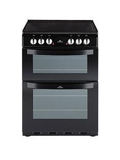 New World NW 601EDO 60CM ELECTRIC CERAMIC DOUBLE OVEN BLACK Best Price, Cheapest Prices