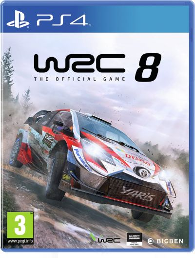 WRC 8 PS4 Pre-Order Game Best Price, Cheapest Prices