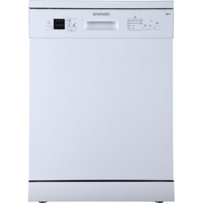 Daewoo DDWMJ1411W Standard Dishwasher - White - A++ Rated Best Price, Cheapest Prices