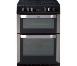 BELLING FSE60DOP 60 cm Electric Ceramic Cooker - Stainless Steel Best Price, Cheapest Prices
