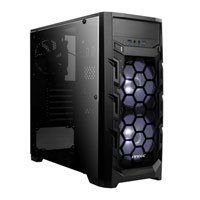 Antec GX202, Black, Mid Tower Chassis With Window, ATX/ MicroATX/ Mini-ITX, 2x120mm White LED Fans, 120mm Fan, 2x USB3.0 Best Price, Cheapest Prices