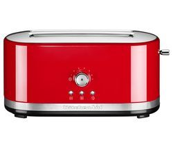 KITCHENAID 5KMT4116BER 2-Slice Toaster - Red Best Price, Cheapest Prices