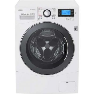 LG TrueSteam™ FH495BDS2 12Kg Washing Machine with 1400 rpm - White - A+++ Rated Best Price, Cheapest Prices