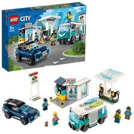 LEGO City Turbo Wheels Service Station Building Set - 60257 Best Price, Cheapest Prices