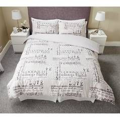Argos Home Dream Bedding Set - Double Best Price, Cheapest Prices