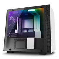NZXT H200i, White, Mini-ITX Computer Chassis, w/ Tempered Glass Window, Smart Control, Mini-ITX, 2x 120mm Fans, 2x USB3 Best Price, Cheapest Prices