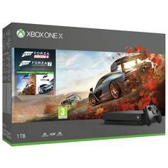 Xbox One X White 1TB Console & Forza Special Edition Bundle Best Price, Cheapest Prices