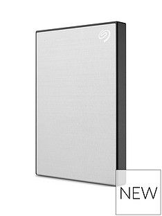 Seagate Seagate 1TB Backup Plus Slim portable (Silver) Best Price, Cheapest Prices