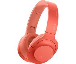SONY WH-H900N Wireless Bluetooth Noise-Cancelling Headphones - Red Best Price, Cheapest Prices
