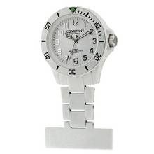 Constant Nurses' White Sports Fob Pin Fastening Watch Best Price, Cheapest Prices