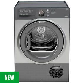 Hotpoint TCFS73BGGUK 7KG Condenser Tumble Dryer - Graphite Best Price, Cheapest Prices