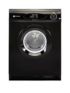 White Knight C44A7B 7kg Load Vented Dryer - Black Best Price, Cheapest Prices