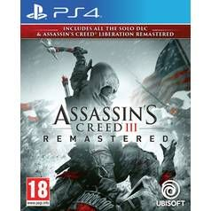 Assassin's Creed III Remastered PS4 Game Best Price, Cheapest Prices