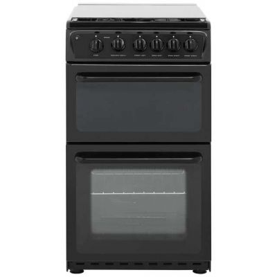 Hotpoint HAGL51K Gas Cooker - Black Best Price, Cheapest Prices