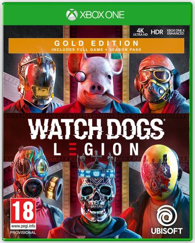 Watch Dogs Legion Gold Edition Xbox One Pre-Order Game Best Price, Cheapest Prices