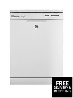 Hoover AXIHDPN 2L620OW 16-Place FullSize Dishwasher - White Best Price, Cheapest Prices