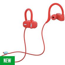 Jam Live Fast In-Ear Bluetooth Headphones - Red Best Price, Cheapest Prices