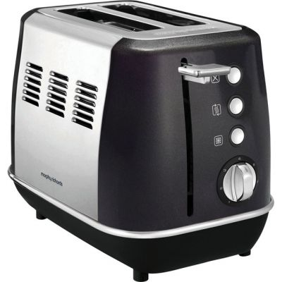 Morphy Richards Evoke 224405 2 Slice Toaster - Black Best Price, Cheapest Prices