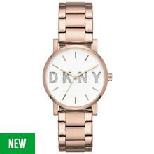 DKNY Ladies' Soho NY2654 Rose Glitter Bracelet Watch Best Price, Cheapest Prices