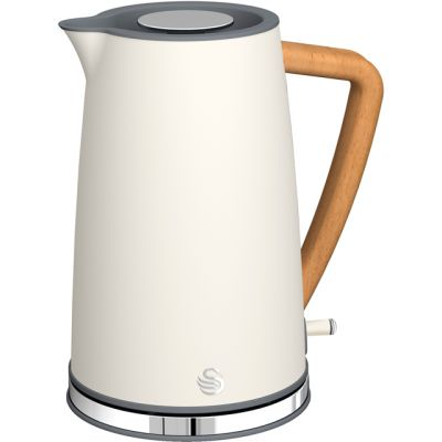 Swan Nordic SK14610WHTN Kettle - White Best Price, Cheapest Prices