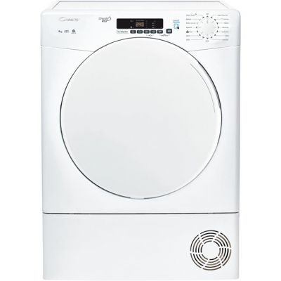 Candy Smart CSC10DF 10Kg Condenser Tumble Dryer - White - B Rated Best Price, Cheapest Prices
