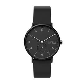 Skagen Men's Aaren Kulor Black Silicone Strap Watch Best Price, Cheapest Prices