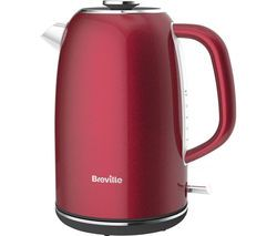 BREVILLE Colour Notes VKJ926 Jug Kettle - Red Best Price, Cheapest Prices