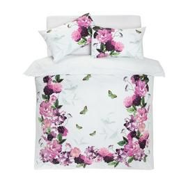 Argos Home Mint Peony Bedding Set - Double Best Price, Cheapest Prices