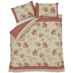 Catherine Lansfield Kashmir Duvet Cover Set - Single Best Price, Cheapest Prices
