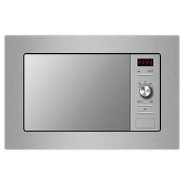 Indesit MWI 122.2X 800W Built In Microwave - Stainless Steel Best Price, Cheapest Prices