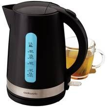 Cookworks Illumination Kettle - Black Best Price, Cheapest Prices
