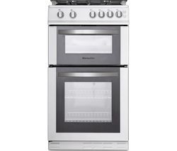 MONTPELLIER MDG500LW 50 cm Gas Cooker - White Best Price, Cheapest Prices
