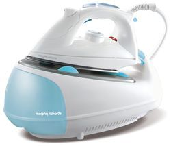 MORPHY RICHARDS Jet Steam 333021 Steam Generator Iron - White & Blue Best Price, Cheapest Prices
