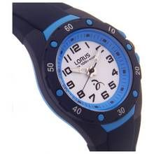 Lorus Kids' Navy Blue Silicone Strap Bezel Watch Best Price, Cheapest Prices