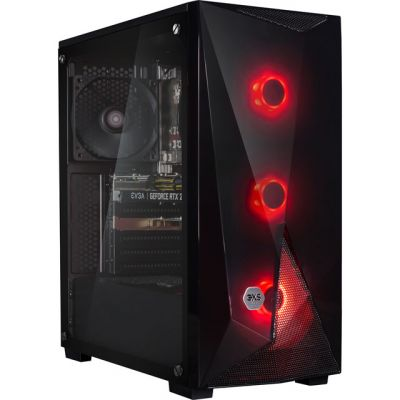 3XS Core 2060 Gaming Tower - Black Best Price, Cheapest Prices