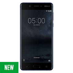 SIM Free Nokia 5.1 16GB Mobile Phone - Blue Best Price, Cheapest Prices