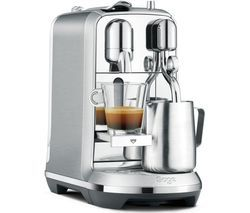 NESPRESSO by Sage Creatista Plus BNE800BSS Coffee Machine - Stainless Steel Best Price, Cheapest Prices