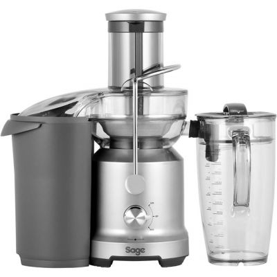 Sage The Nutri Juicer Cold BJE430SIL Juicer - Stainless Steel Best Price, Cheapest Prices