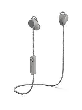 Urbanears Jakan Bluetooth Wireless In-Ear Headphones - Ash Grey Best Price, Cheapest Prices