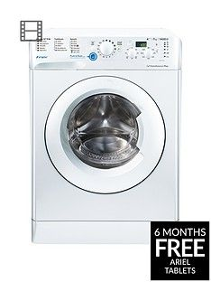 Indesit Innex BWD71453W 7kg Load, 1400 Spin Washing Machine - White, A+++ Energy Rating Best Price, Cheapest Prices