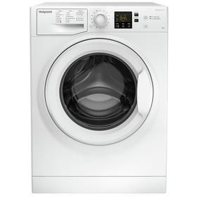 Hotpoint NSWM 843C W 8KG 1600 Spin Washing Machine - White Best Price, Cheapest Prices