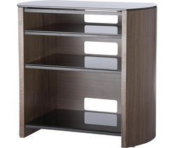 ALPHASON Finewoods HiFi Series FW750/4 750 mm TV Stand - Walnut Best Price, Cheapest Prices