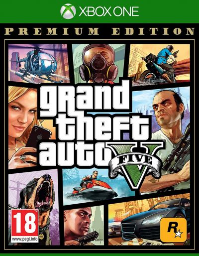 GTA V Premium Edition Xbox One Game Best Price, Cheapest Prices