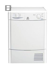 Indesit Ecotime IDC8T3B 8kg Load Condenser Tumble Dryer - White Best Price, Cheapest Prices
