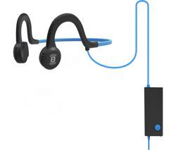 AFTERSHOKZ Sportz Titanium Noise-Cancelling Headphones - Blue Best Price, Cheapest Prices