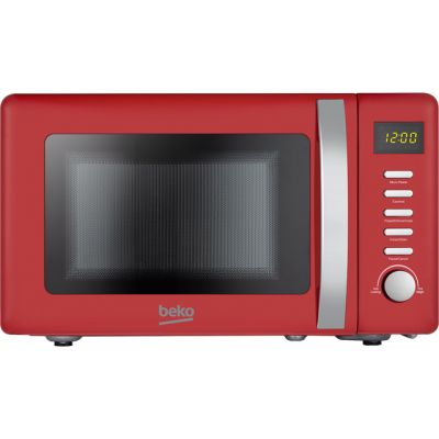 Beko Retro MOC20200R 20 Litre Microwave - Red Best Price, Cheapest Prices