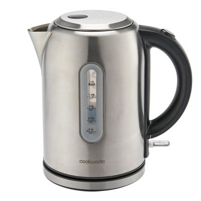 Cookworks Illumated Kettle - Brushed Stainless Steel Best Price, Cheapest Prices