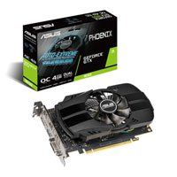 ASUS GeForce GTX 1650 PHOENIX OC 4GB GDDR5 Graphics Card, 896 Core, 1485MHz GPU, 1680MHz Boost Best Price, Cheapest Prices